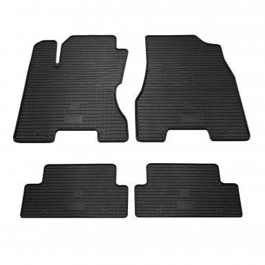 Комплект резиновых ковриков в салон автомобиля Nissan X-Trail T31