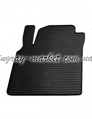 Водительский резиновый коврик Nissan Almera Classic