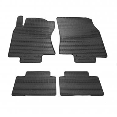 Комплект резиновых ковриков в салон автомобиля Nissan X-Trail T32/Rogue 2014-
