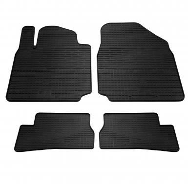 Комплект резиновых ковриков в салон автомобиля Nissan Micra K12
