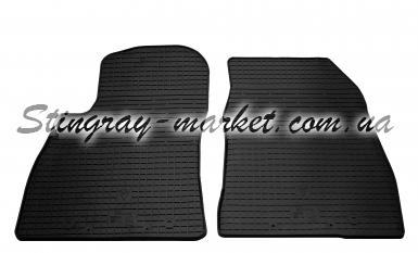 Передние автомобильные резиновые коврики Nissan Sentra 2015-