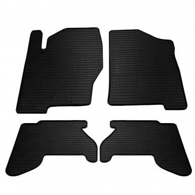 Комплект резиновых ковриков в салон автомобиля Nissan Pathfinder R51 2005-2010