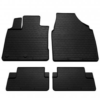 Комплект резиновых ковриков в салон автомобиля Nissan Qashqai 2007- 2014