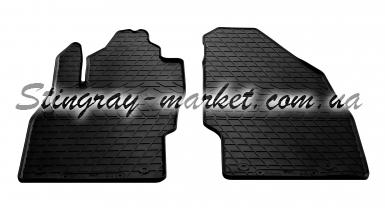 Передние автомобильные резиновые коврики Opel Corsa E 2014-