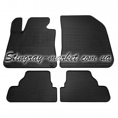 Комплект резиновых ковриков в салон автомобиля Peugeot 308 2013-