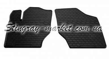 Передние автомобильные резиновые коврики Citroen C4 2004-2009