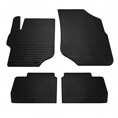Комплект резиновых ковриков в салон автомобиля Citroen C-Elysee 2013-
