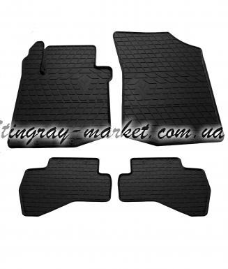 Комплект резиновых ковриков в салон автомобиля Citroen C1 2005-2014 (design 2016)