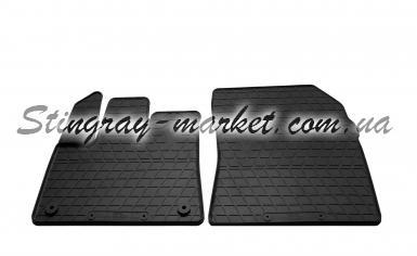 Передние автомобильные резиновые коврики Opel Combo E 2018-