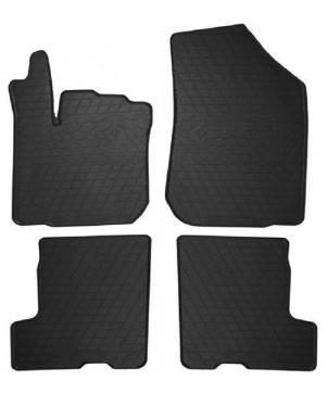 Комплект резиновых ковриков в салон автомобиля Dacia Sandero Stepway 2013-