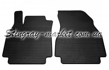 Передние автомобильные резиновые коврики Renault Megane II 2002-2008