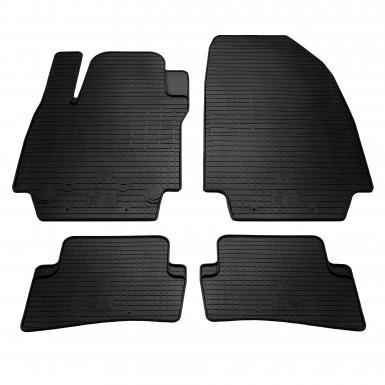 Комплект резиновых ковриков в салон автомобиля Renault Clio III | Clio IV