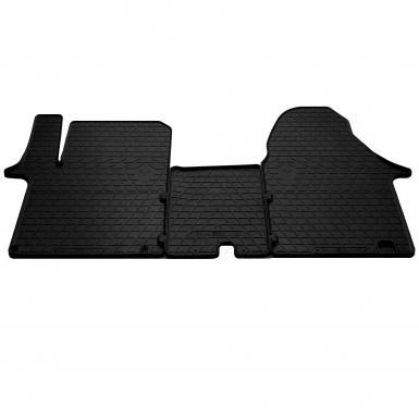 Комплект резиновых ковриков в салон автомобиля Nissan Primastar 2002- (1+2)