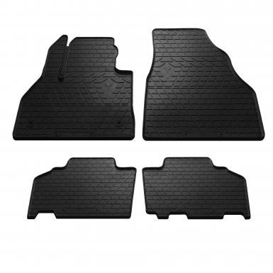 Комплект резиновых ковриков в салон автомобиля Mercedes Citan 2012-