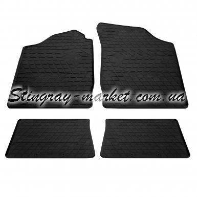 Комплект резиновых ковриков в салон автомобиля Renault Symbol II 2008-
