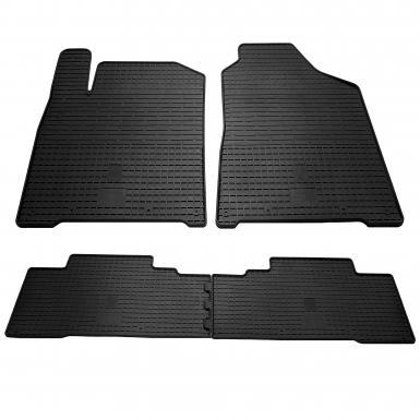 Комплект резиновых ковриков в салон автомобиля Ssang Yong Korando 2011-
