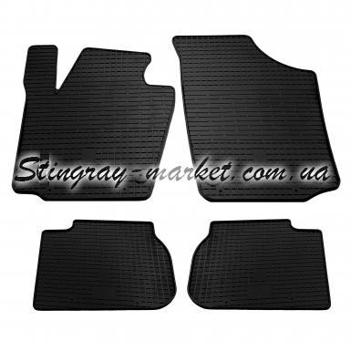 Комплект резиновых ковриков в салон автомобиля Seat Toledo IV 2012-