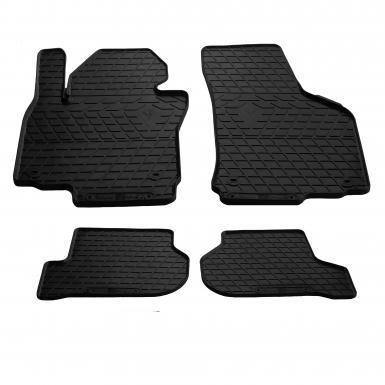 Комплект резиновых ковриков в салон автомобиля Seat Leon II 2005-