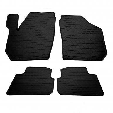 Комплект резиновых ковриков в салон автомобиля Skoda Roomster 2006-