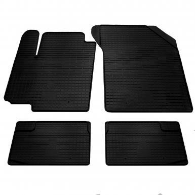 Комплект резиновых ковриков в салон автомобиля Fiat Sedici