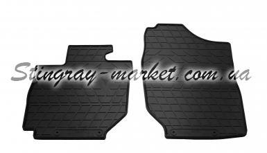Передние автомобильные резиновые коврики Suzuki Jimny 2018-
