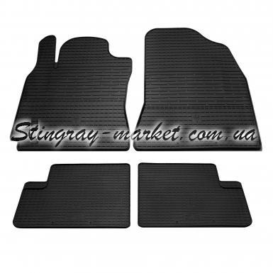 Комплект резиновых ковриков в салон автомобиля Chery Tiggo T11 2006-2014