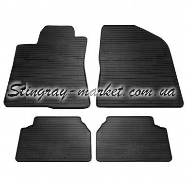 Комплект резиновых ковриков в салон автомобиля Toyota Avensis 2003-2009
