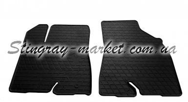 Передние автомобильные резиновые коврики Toyota Highlander (XU50) 2014-2019