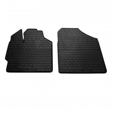 Передние автомобильные резиновые коврики Toyota Yaris 2006-