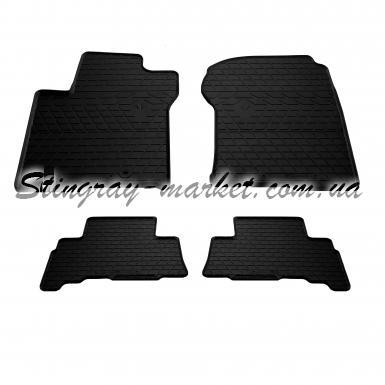 Комплект резиновых ковриков в салон автомобиля Lexus GX II 2010-