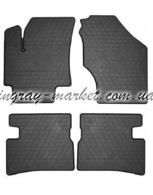 Комплект резиновых ковриков в салон автомобиля Hyundai Accent 2006-2010