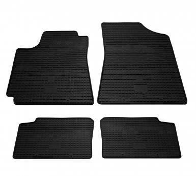 Комплект резиновых ковриков в салон автомобиля Geely Emgrand EC7