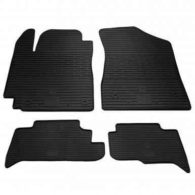 Комплект резиновых ковриков в салон автомобиля Geely GC5 2014-