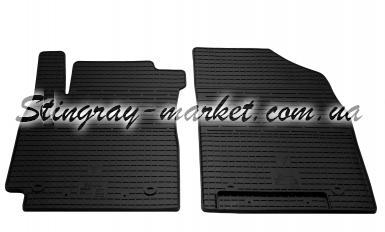 Передние автомобильные резиновые коврики Geely Emgrand X7 2012-