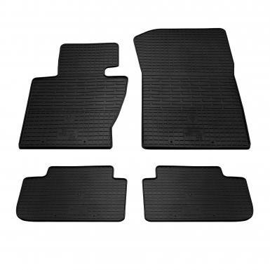 Комплект резиновых ковриков в салон автомобиля BMW X3 (E83) 2003-2010