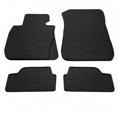 Комплект резиновых ковриков в салон автомобиля BMW 1 (E81/E82/E87/E88) 2004-2011