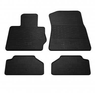 Комплект резиновых ковриков в салон автомобиля BMW X4 (F26) 2014-2018