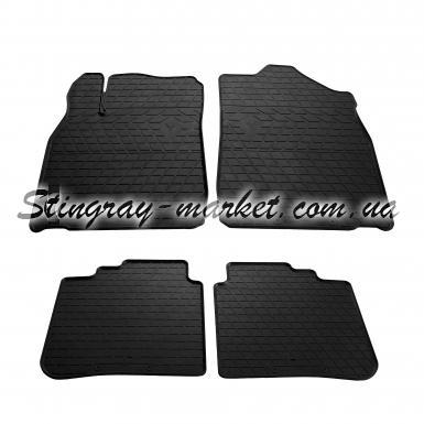 Комплект резиновых ковриков в салон автомобиля Lexus ES 2012-