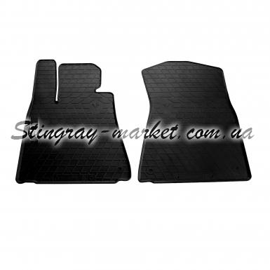 Передние автомобильные резиновые коврики Lexus GS 2011-