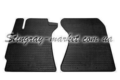 Передние автомобильные резиновые коврики Subaru Forester II 2002-