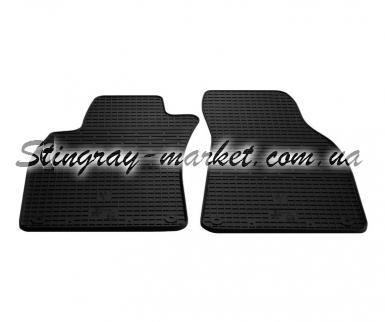 Передние автомобильные резиновые коврики Audi  A6 (С6) 2004-2011