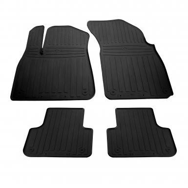 Комплект резиновых ковриков в салон автомобиля AUDI Q8 2018-