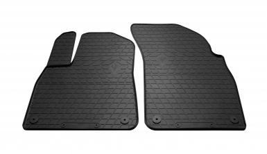 Передние автомобильные резиновые коврики Audi Q7 (4M) 2015-
