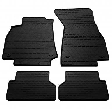 Комплект резиновых ковриков в салон автомобиля Audi A6 (C8) 2018-