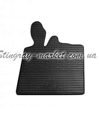 Водительский резиновый коврик Smart 1998-2014