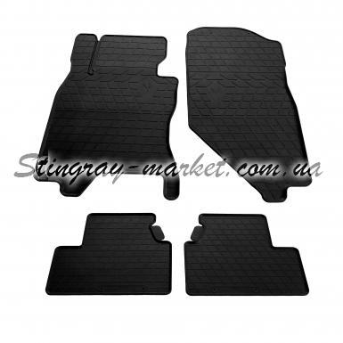 Комплект резиновых ковриков в салон автомобиля Infiniti G (sedan) 2006-