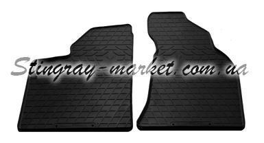 Передние автомобильные резиновые коврики Lada Priora 2000-