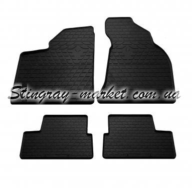 Комплект резиновых ковриков в салон автомобиля ВАЗ (Lada) 2112