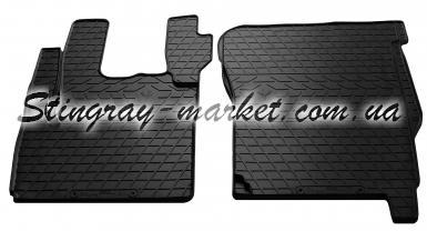 Комплект резиновых ковриков в салон автомобиля DAF CF 2000-2013