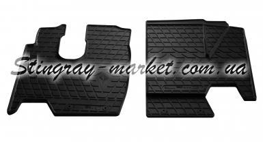 Комплект резиновых ковриков в салон автомобиля Truck Mercedes Benz Atego 1995-